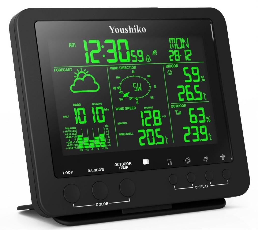 Youshiko YC9386 Professional Weather Station